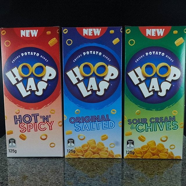 UK crisp lovers – there's finally an Australian version of Hula Hoops! Find out if they're any good in my review, now up on Morsels and at theshelflife.com.au