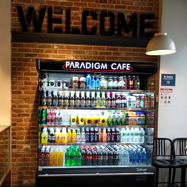 """The cafe closest to our hotel – they even sell a """"flat white"""", although I'm not expecting much. Will investigate coffee tomorrow… #newyork #newyorkfood #nyc #nyceats #perthfoodblogger #perthfoodblog #food #foodblogger #foodblog #foodstagram #yelp #yelpnyc #foodie #perthfoodie #morselsusa #morsels"""