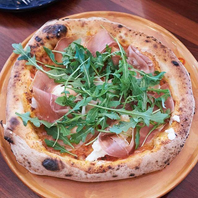 "So many amazing photos from today's lunch at Woodfire Italian Restaurant… Here's an authentic ""Naploetana"" pizza with buffalo mozzarella, prosciutto and rocket #invited #perth #perthfood #perthfoodblogger #perthfoodblog #food #foodblogger #foodblog #foodstagram #yelpperth #foodie #perthisok #pertheats #urbanlistperth #tasteperth #fcba #atasteofperth #perthfoodie #ozeatingwa #soperth #broadsheetperth #morsels"