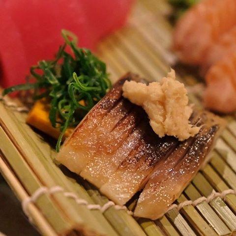 Mackerel sashimi from Satsuki in Subiaco