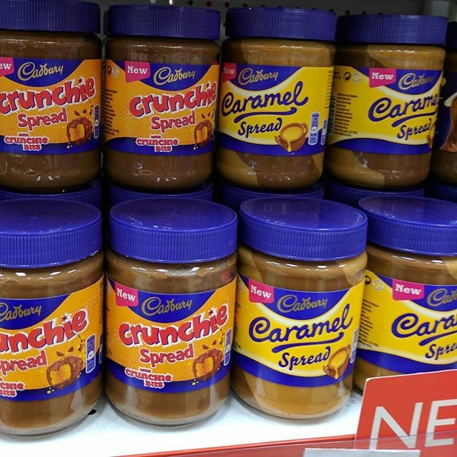 Some yummy new spreads – and a huge selection of biscuits and chocolate – on sale at UK Central in Joondalup!