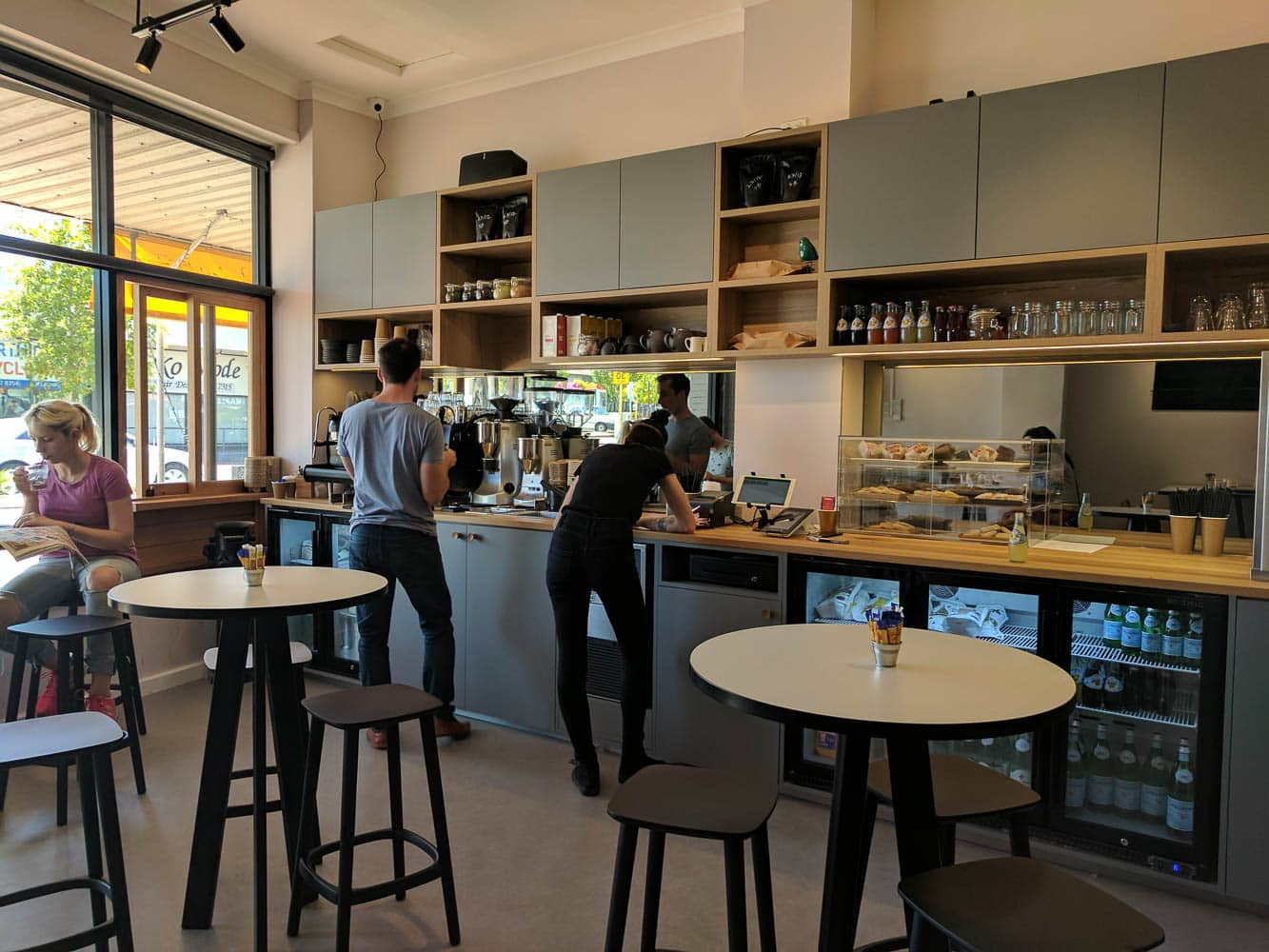 A quick visit to Open Plan Coffee Co., North Perth