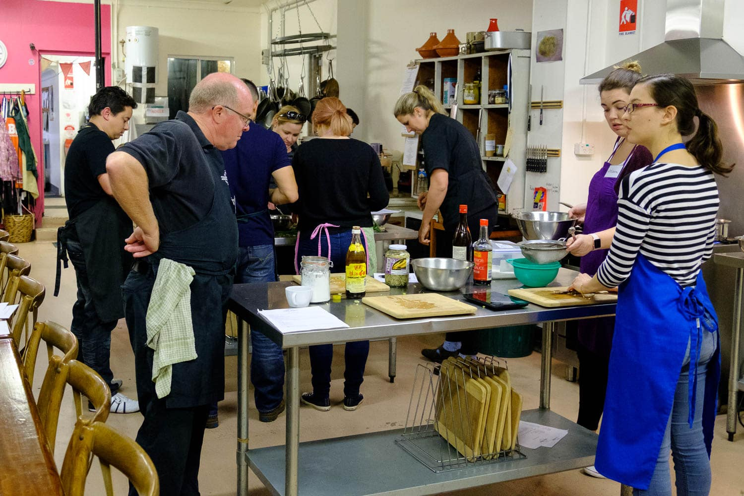 A Night of Food and Laughter at Taste Budds Cooking Studio