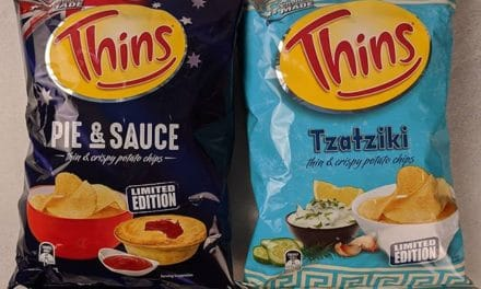 Today we have two limited edition varieties of Thins: Pie & Sauce and Tzatziki @colessupermarkets . The pie & sauce description is more dubious than the recent Shapes offering, but they're a nicer bite. It's a light smoky bbq flavour, like some of the ribs varieties. . Tzatziki. Cucumber and yogurt. They actually taste as described, but it's just weird. Cucumber does not belong in a crisp ? . #theshelflife #morsels #perth #perthfood #food #foodstagram #foodie #perthisok #pertheats #tasteperth #perthfoodie #perthfoodies #instagood #perthlife #feedmeau #perthfoodblogger #foodblogger #foodblog