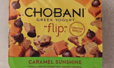 """I'm a big fan of the Chobani Flip range and here's a great new """"Caramel Sunshine"""" limited batch. It's vanilla yoghurt with plenty of biscuity / chocolatey / fudgy goodness. There was never going to be anything bad about this  grab it while you can… @chobaniau . #theshelflife #morsels #perth #perthfood #food #foodstagram #foodie #perthisok #pertheats #tasteperth #perthfoodie #perthfoodies #instagood #perthlife #feedmeau #perthfoodblogger #foodblogger #foodblog"""
