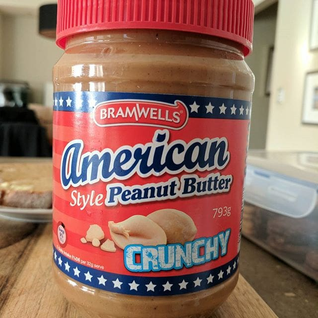 """ALDI sell this """"American Style"""" peanut butter alongside their standard offering, which like most ALDI products is just different, not of lesser quality. … I was attracted to this one because I find most peanut butter way too sweet. This huge jar was about $4.50 (from memory), nearly half the cost of full-price Kraft. … I was expecting something a lot more roasted and salty in flavour, and this is really just another variation on the theme, not a """"style"""". It's less sweet than others, and a definite bargain at the price  …"""
