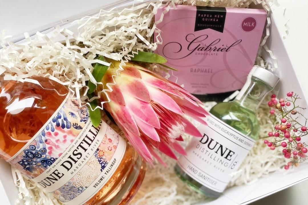 Dune Distilling Pink Gin Gift Box