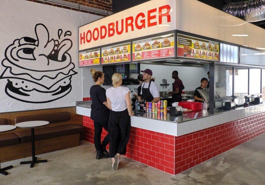 Hoodburger Opens in Inglewood