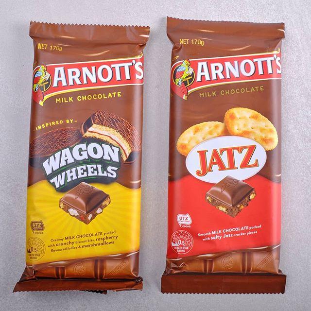 Arnotts Biscuits Chocolate – Scotch Finger and Jatz