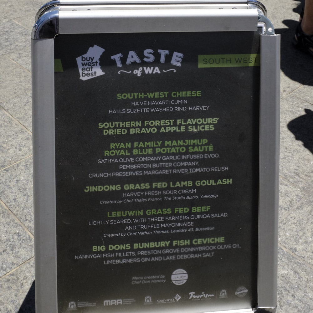 Photo Gallery: Taste of WA, South West Edition 2